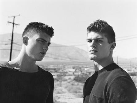 Zane and Will, Hot Desert Springs, 2006_GAYLETTER