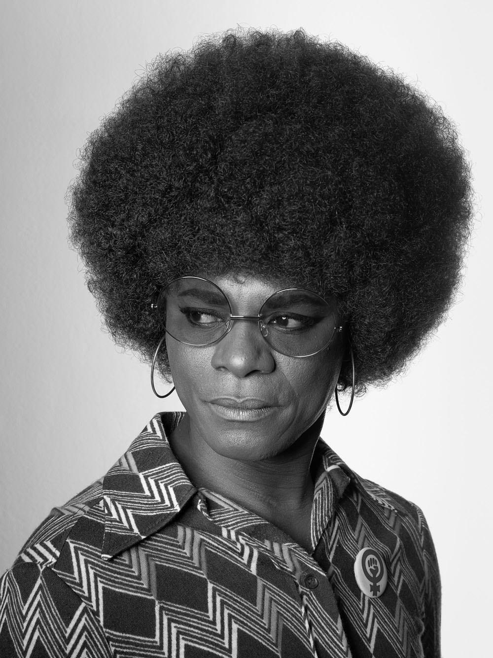 SF-603 2008 Self Portrait_African Spirits_AngelaDavis_GAYLETTER