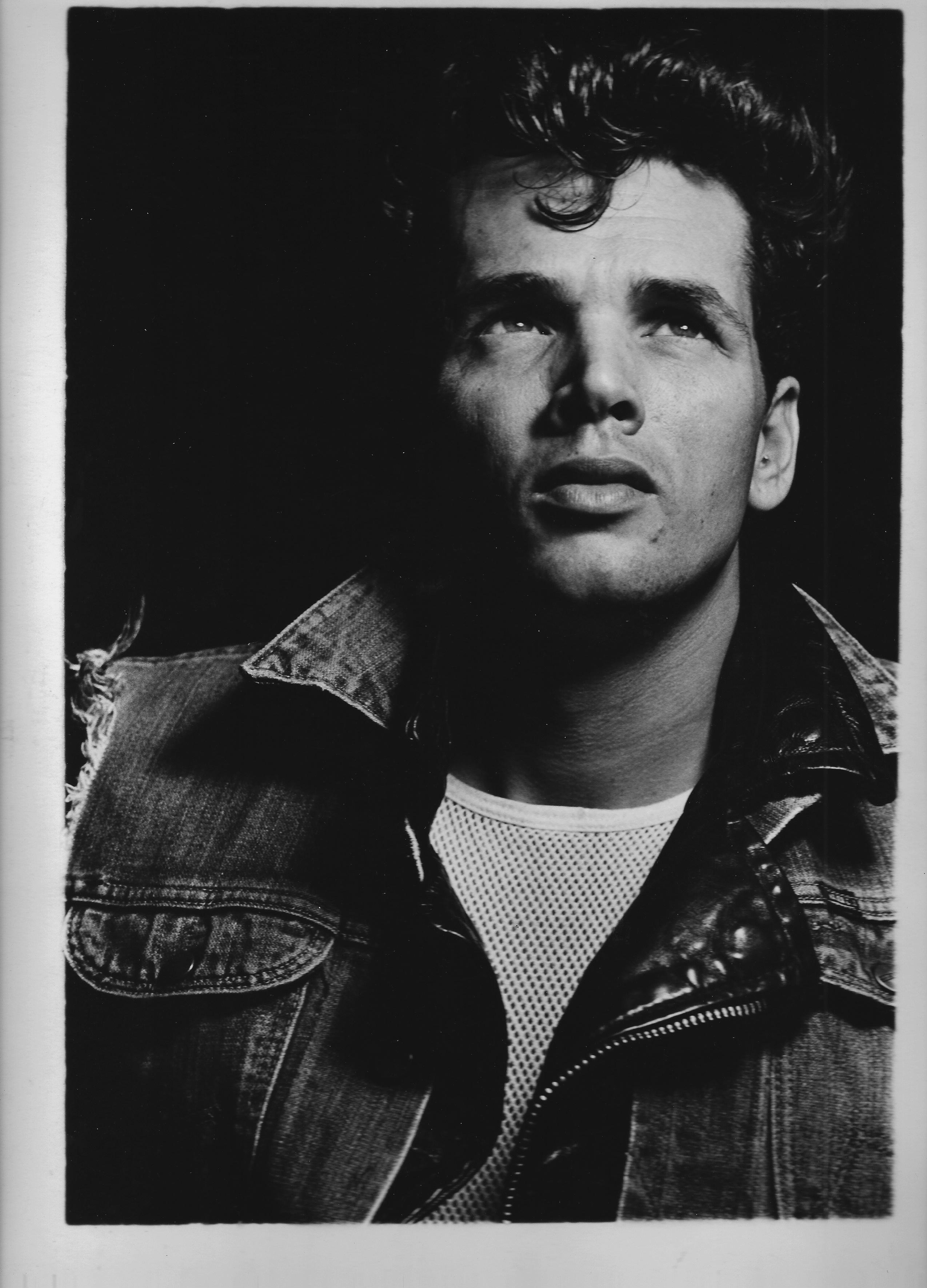 John Dugdale portrait 1982_GAYLETTER
